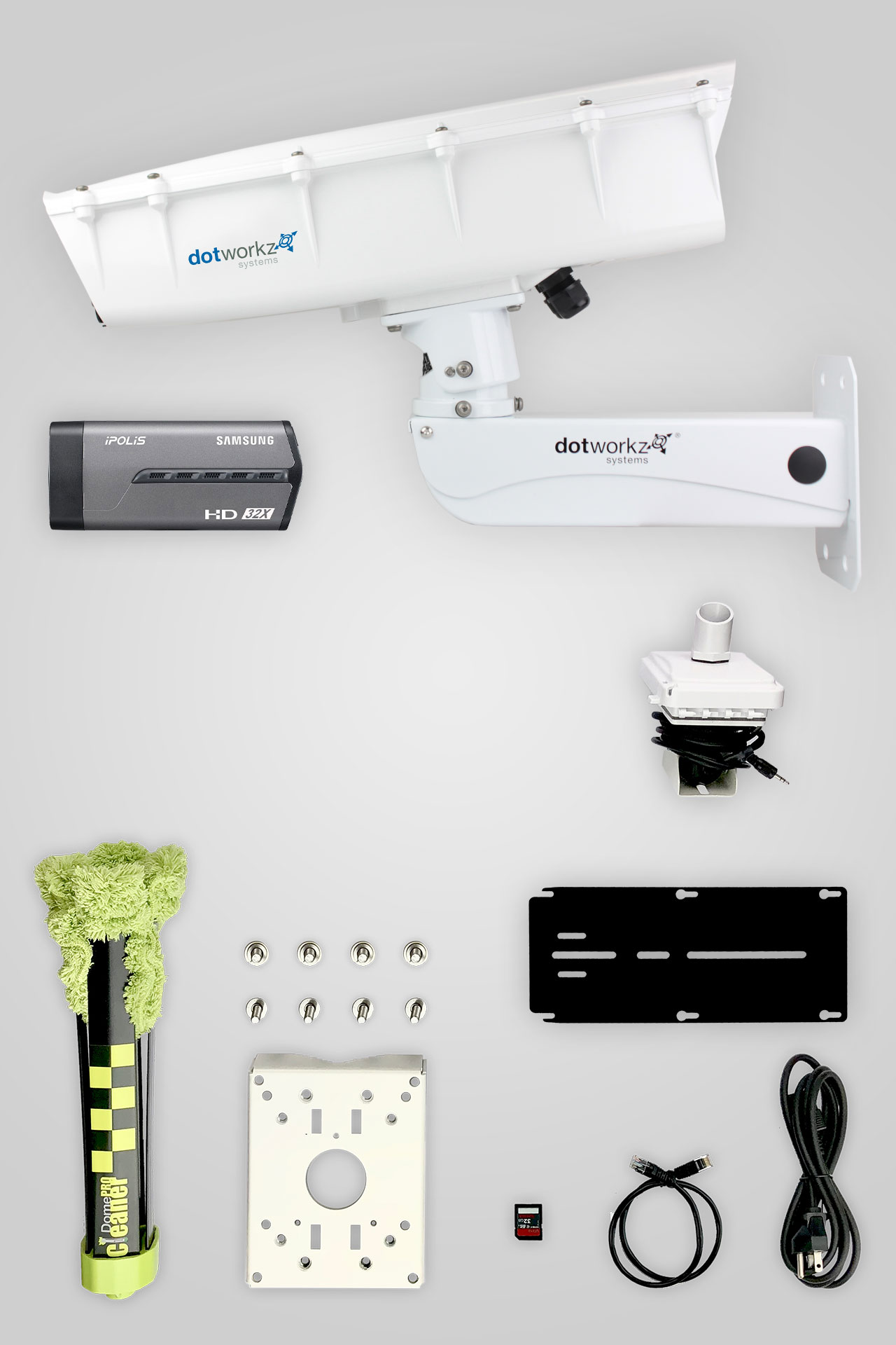 Base Model Live Long Range IP Camera Package