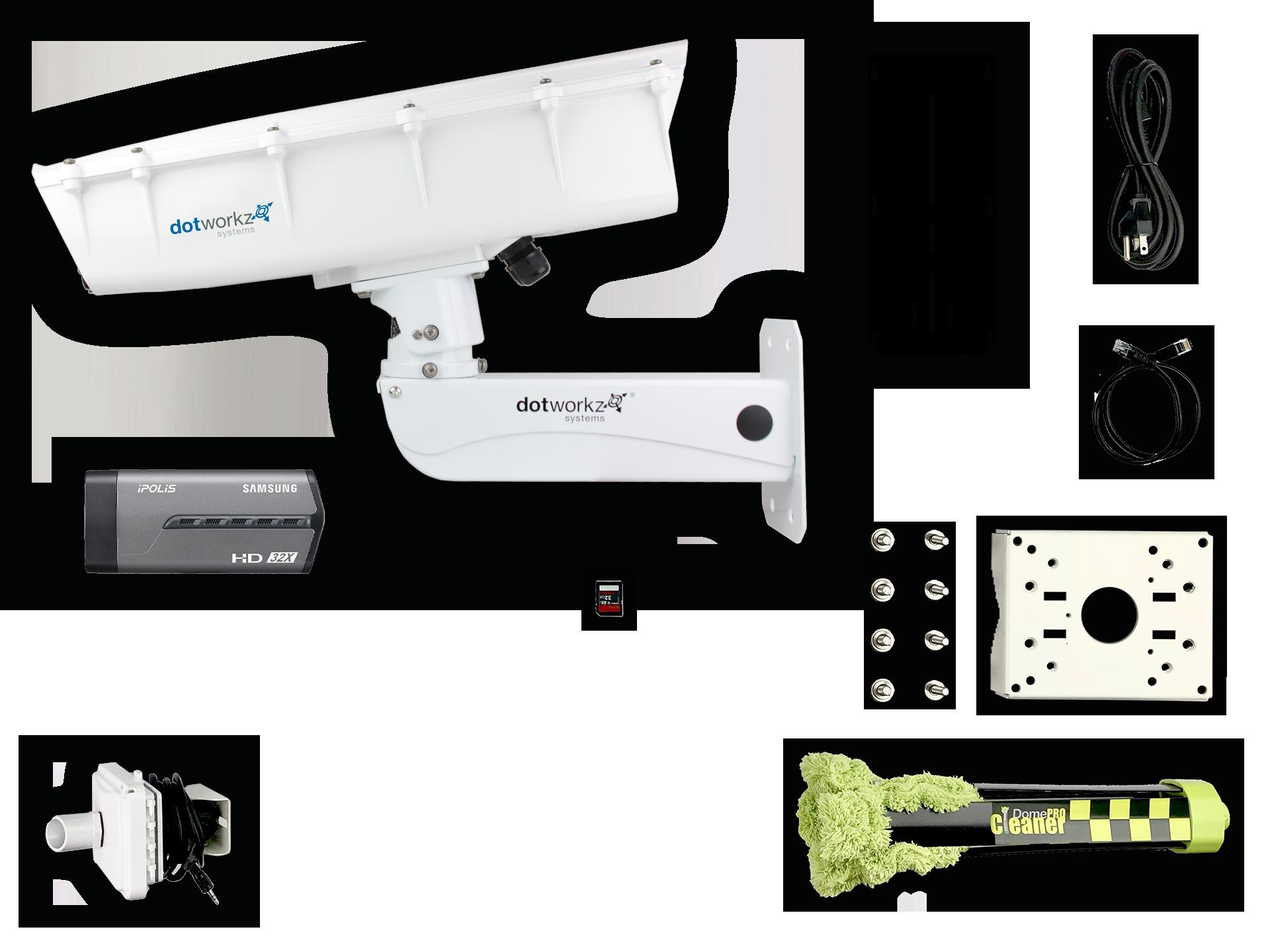 Base Model Live Long Range IP Camera Package