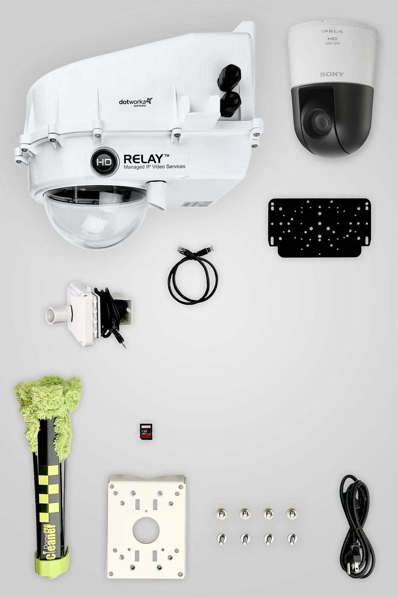 Base Model Live PTZ IP Camera Package