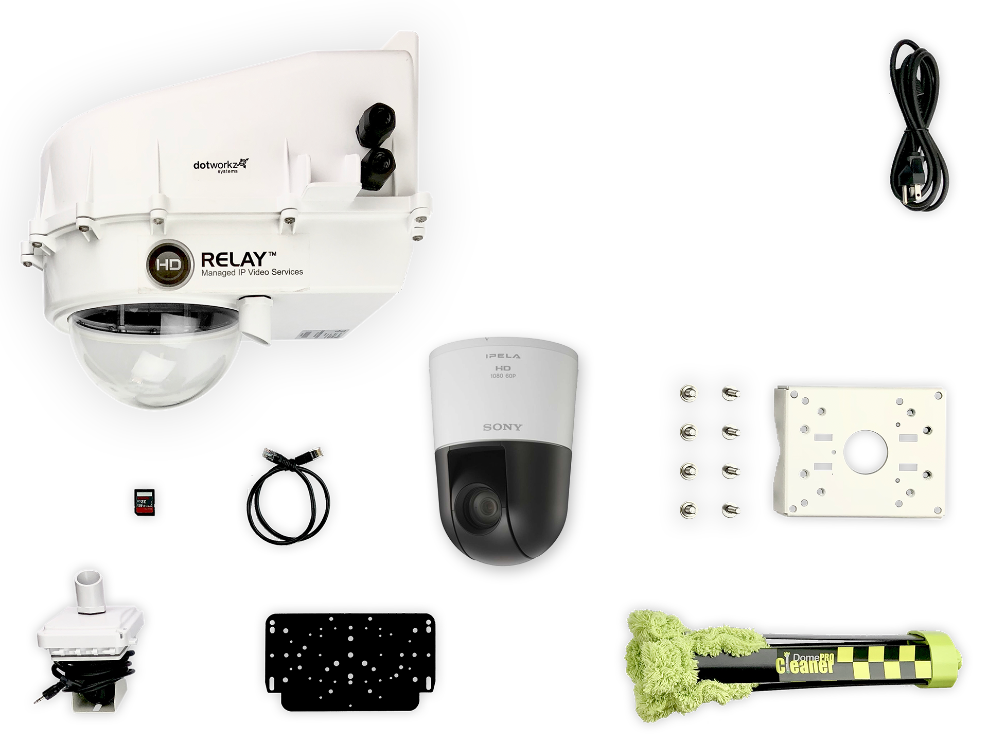 Beach Weather Live PTZ IP Camera Package