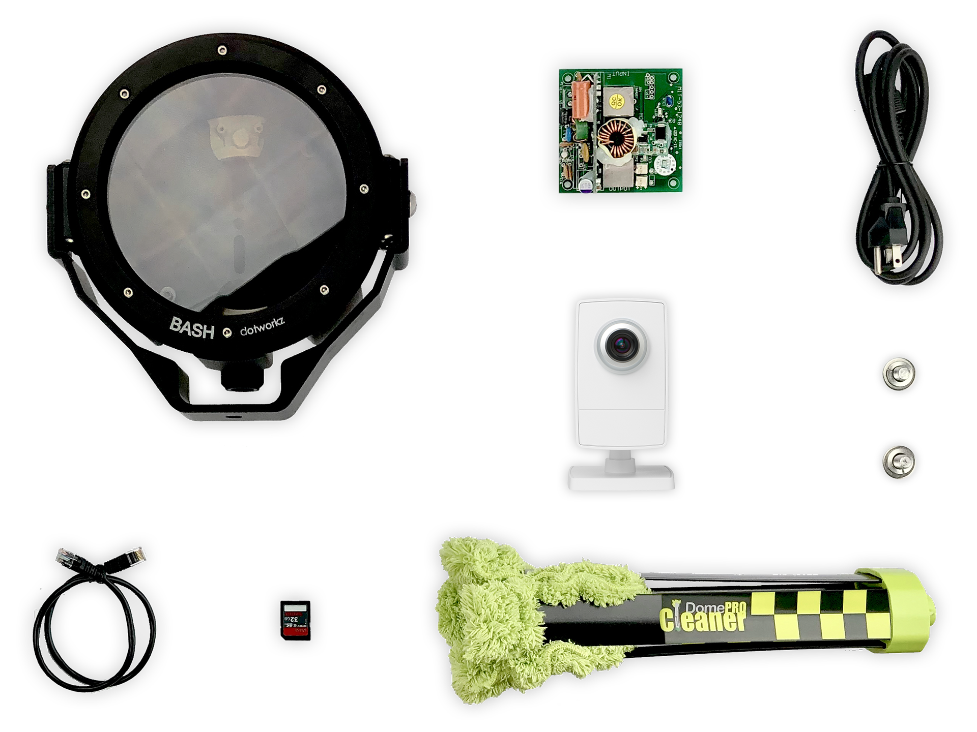 Beach Weather Live Wide Angle IP Camera Package