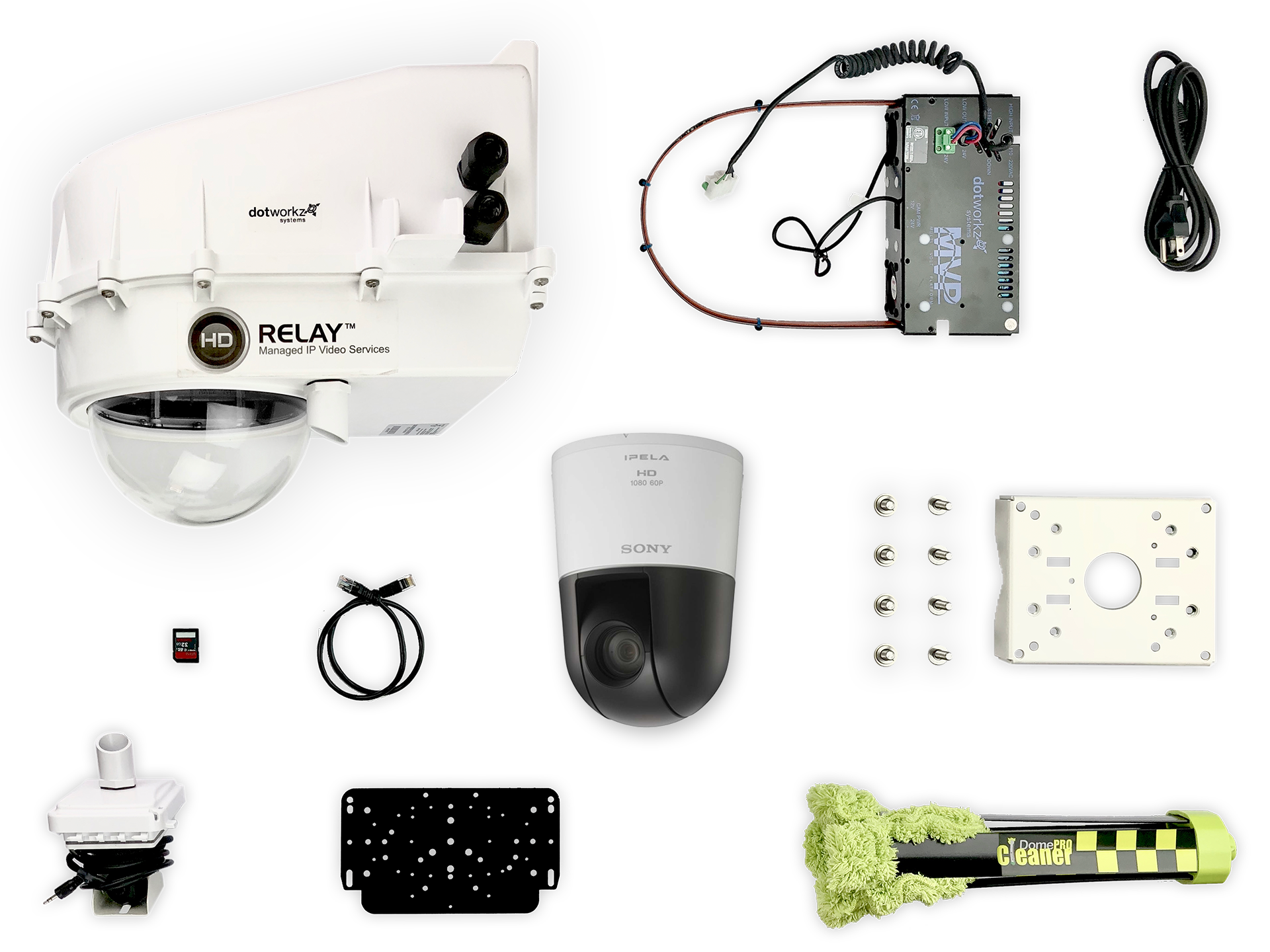 Cold Weather Live PTZ IP Camera Package