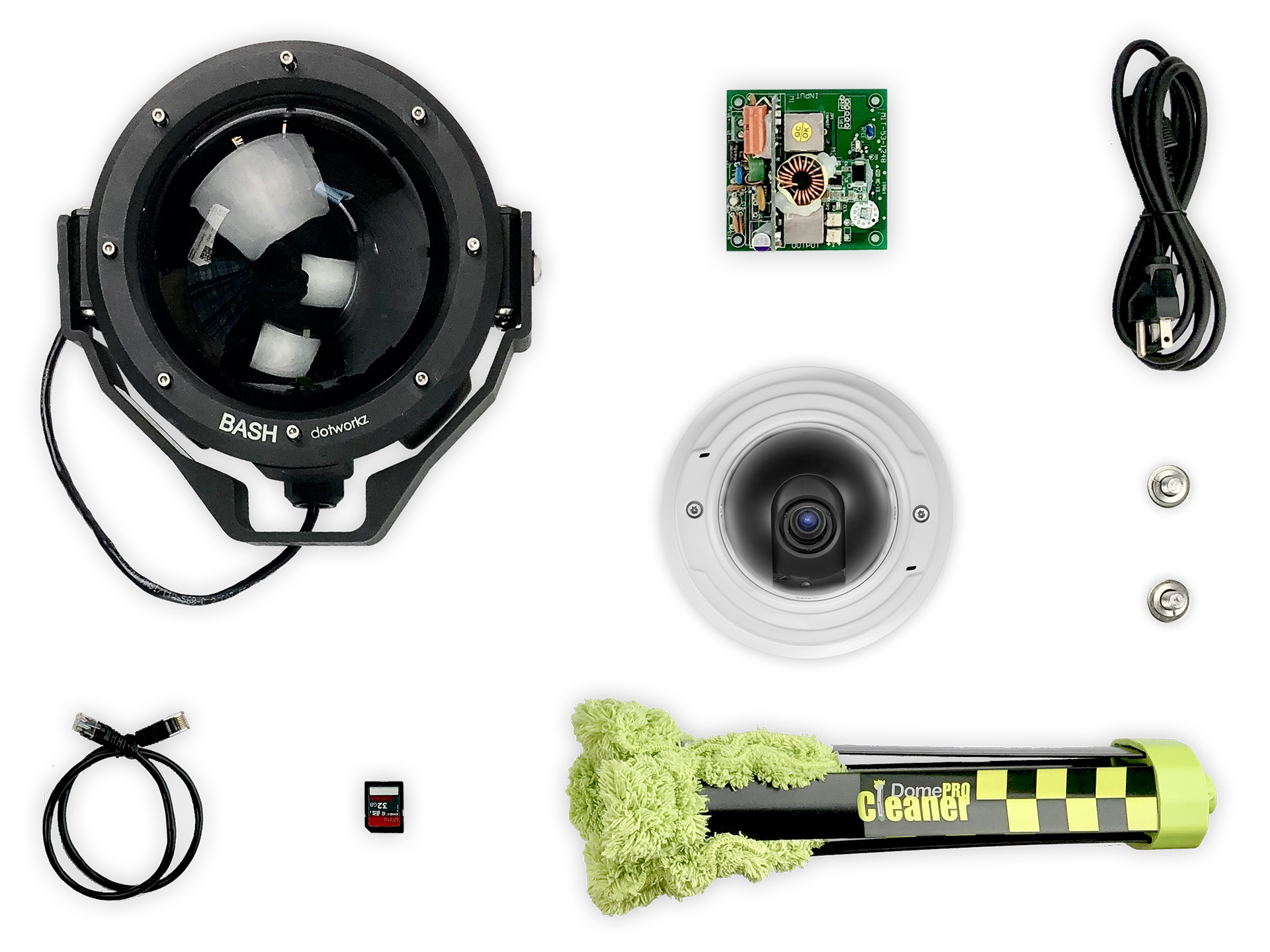 Cold Weather Live Wide Angle IP Camera Package