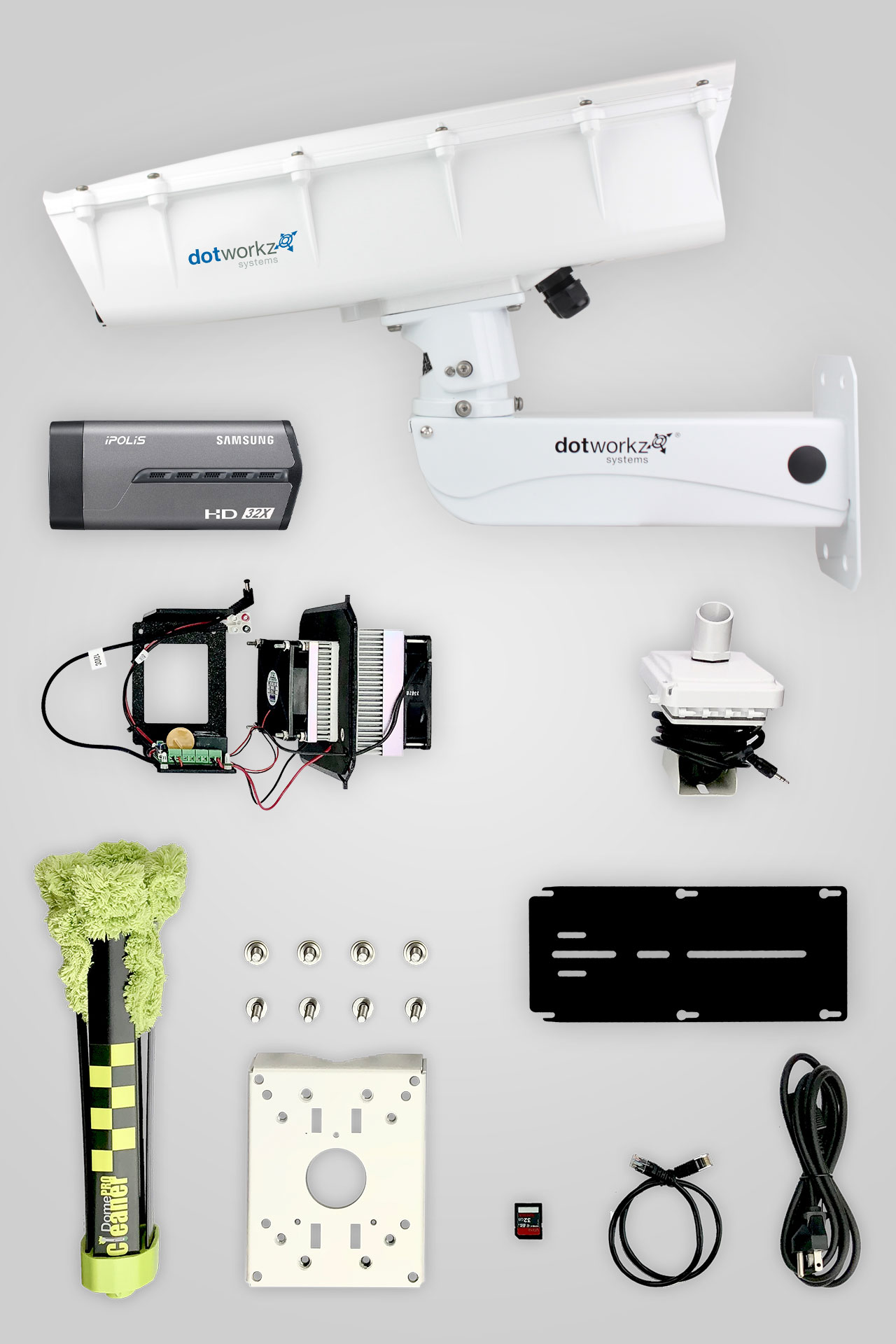 Hot Weather Live Long Range IP Camera Package