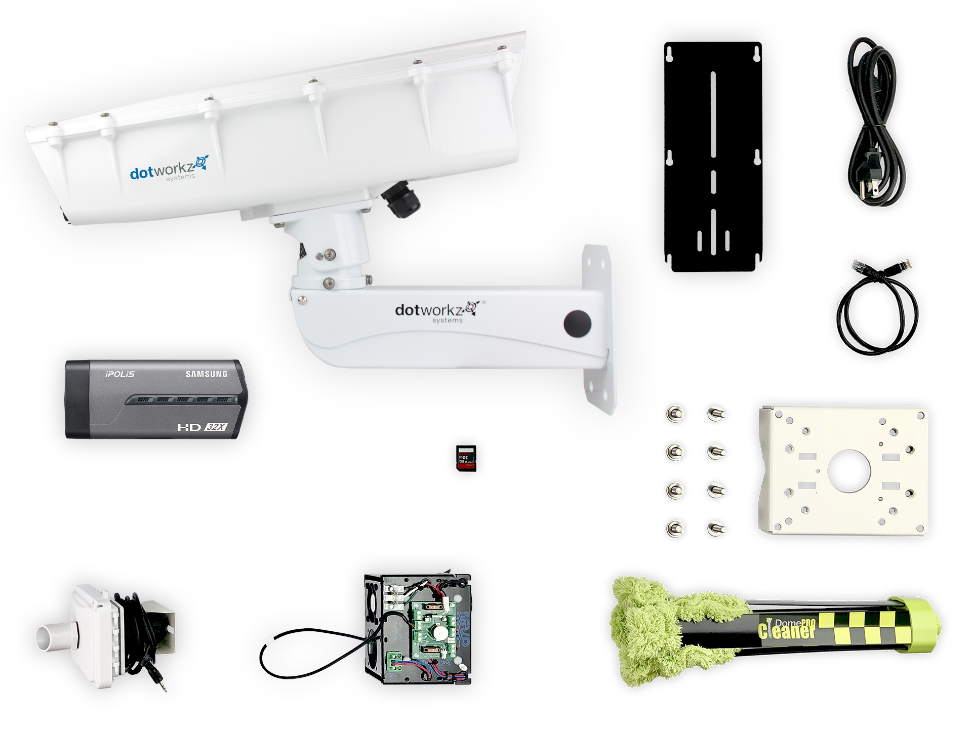 Humid Weather Live Long Range IP Camera Package