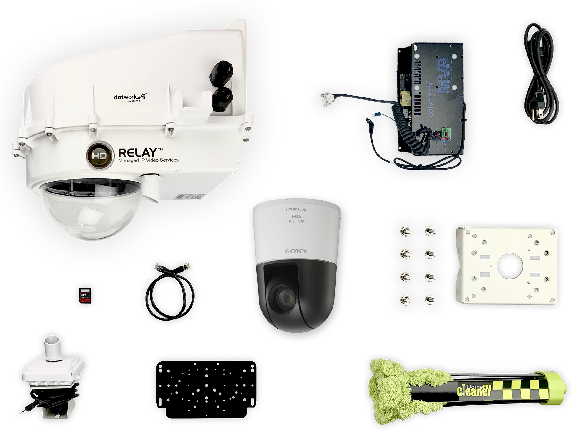 Humid Weather Live PTZ IP Camera Package