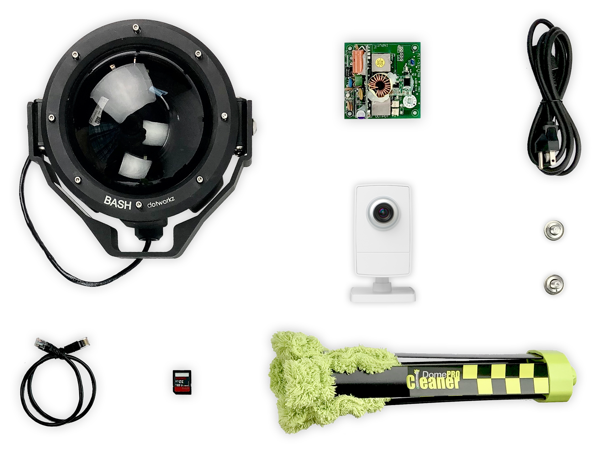 Humid Weather Live Wide Angle IP Camera Package
