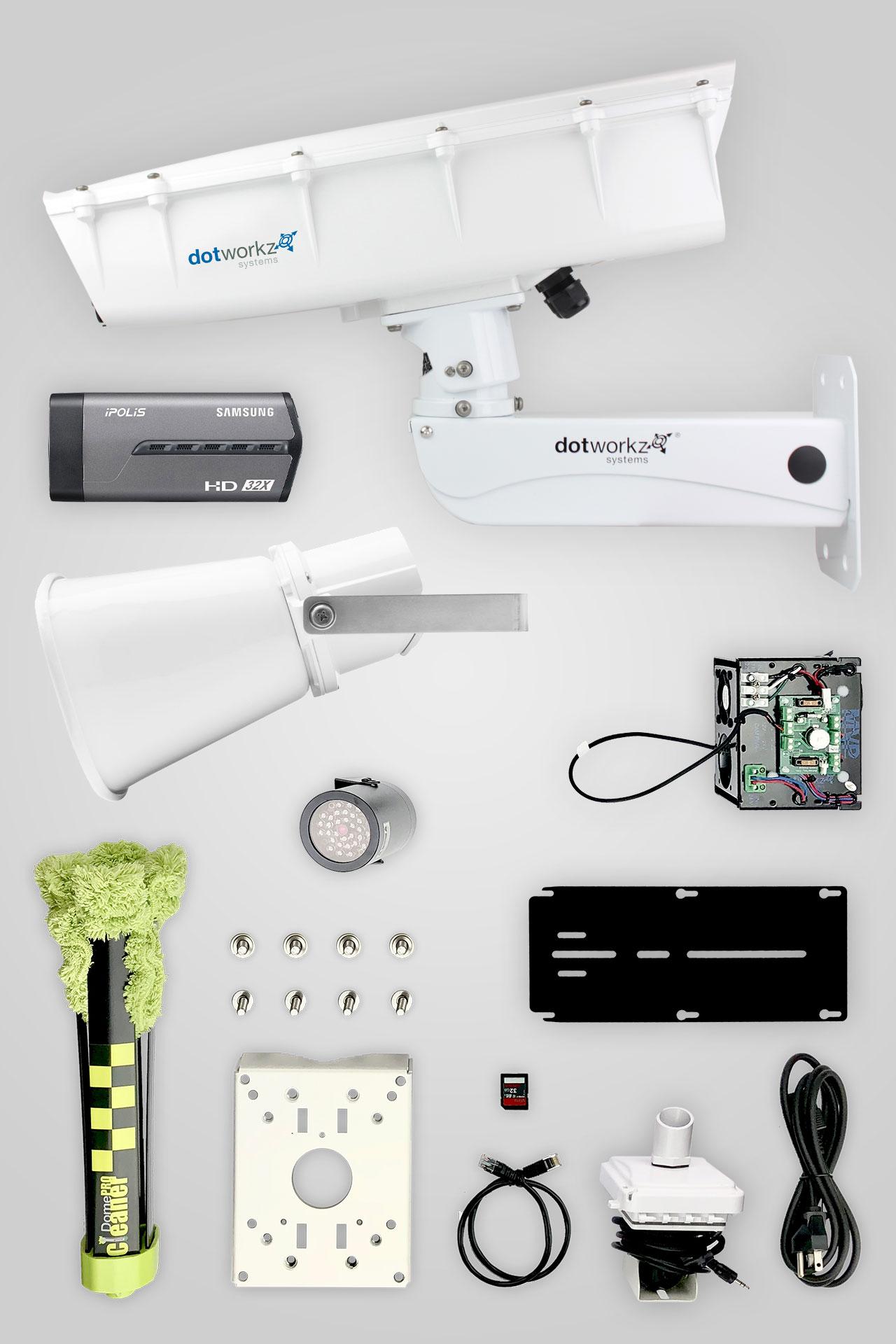 Jobsite Live Long Range IP Camera Package