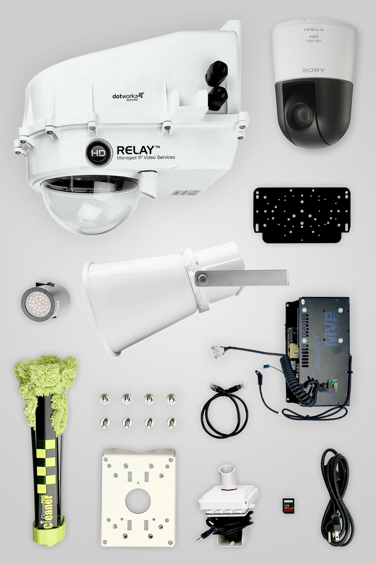Jobsite Live PTZ IP Camera Package