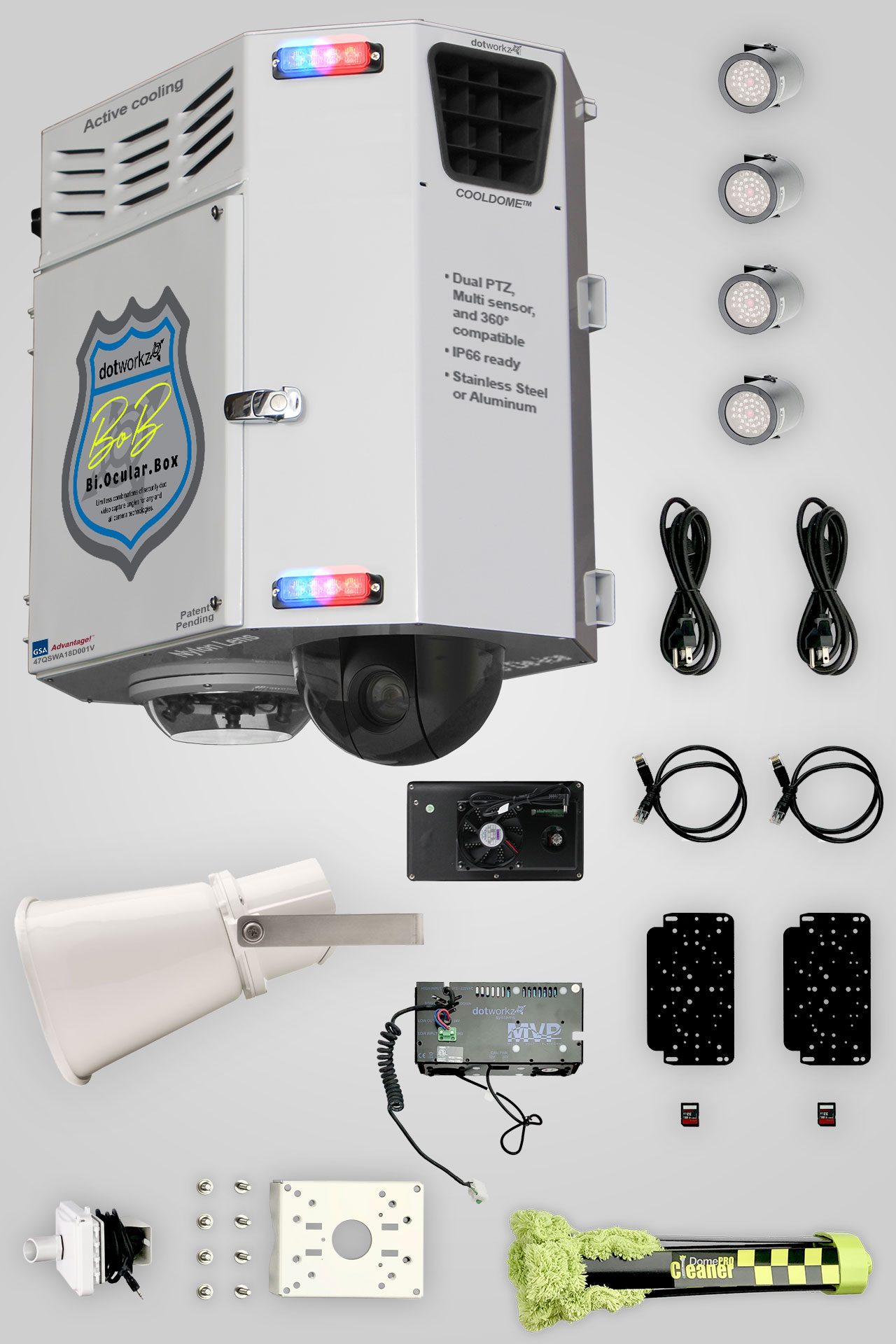Live BOB Multi IP Camera Hardware Package