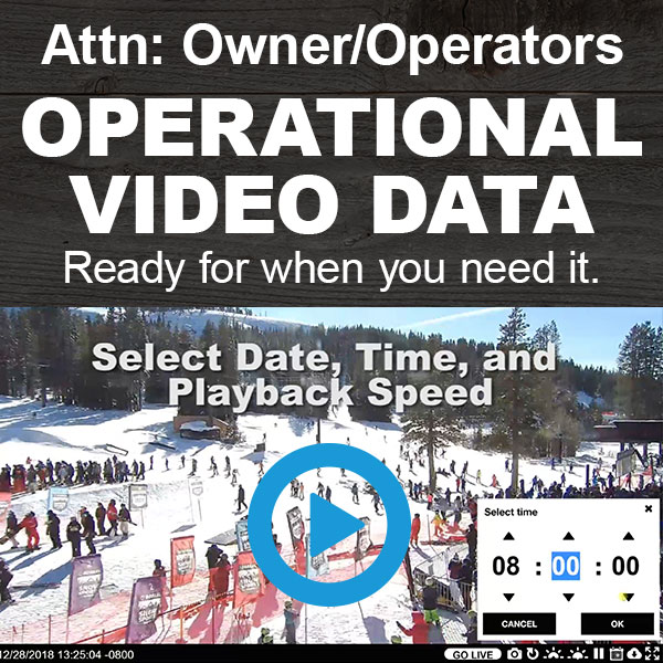 Operational Video Data feature from HD Relay