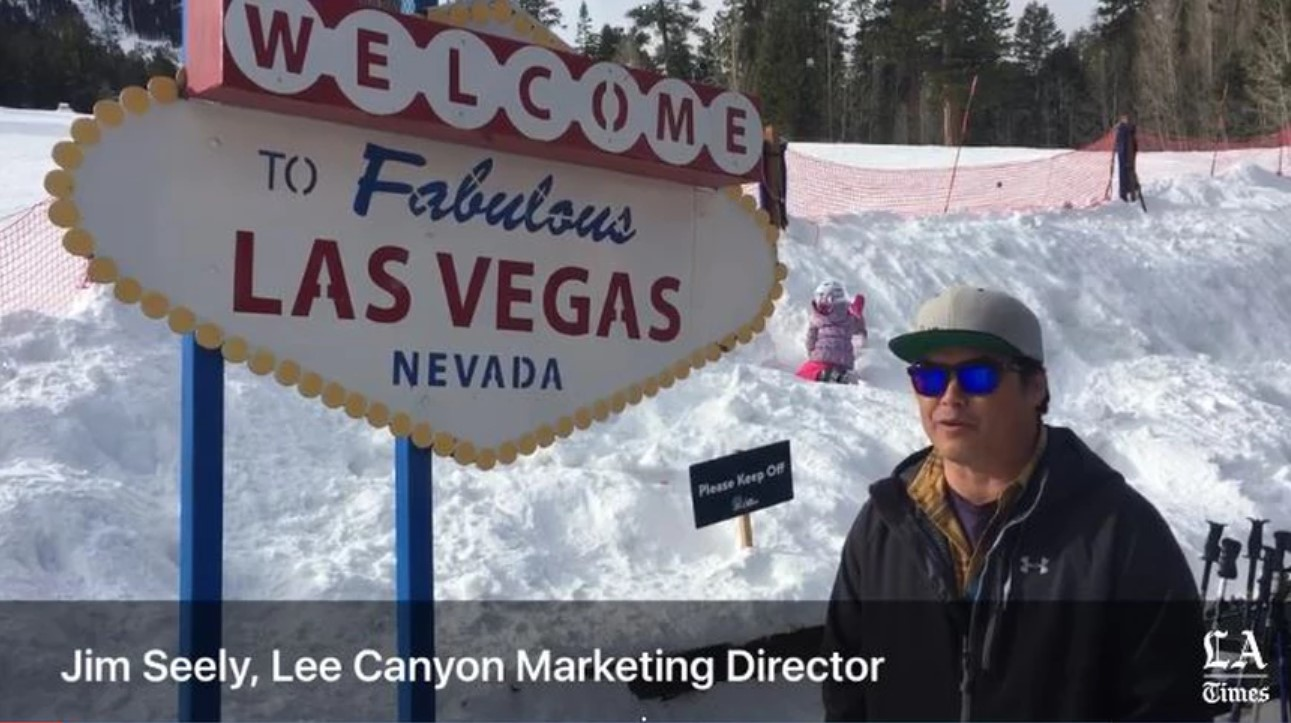 There's another Las Vegas Strip, where skiers can get away from the glitz