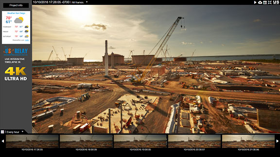 LIVE Camera Features - Construction or Jobsites Recording and Timelapse