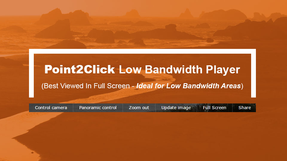 Low Bandwidth Point2Click