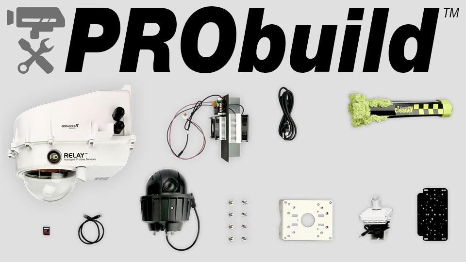LIVE Camera Features - ProBuild