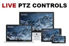 LIVE Camera Features - PTZ Controls
