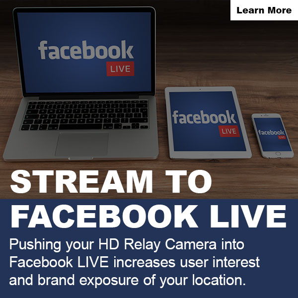 live camera streaming feature facebook live