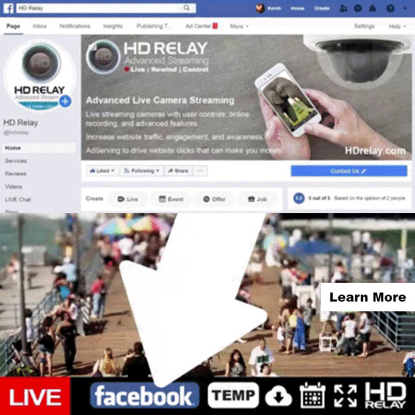 New HTML5 Player with Buttons for Facebook, Temperature, Maps, and More
