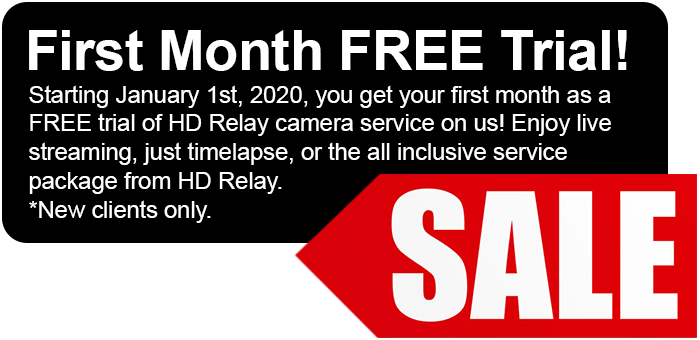 HD Relay 2020 First Month FREE Trial full offer
