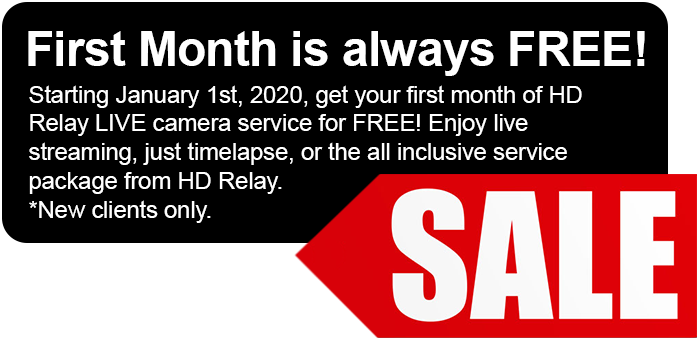 First month is always free!