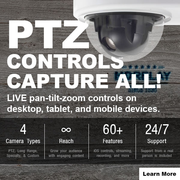 HD Relay Control your LIVE Pan Tilt Zoom Cameras
