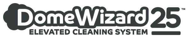 dotworkz 2020 domewizard logo 25 foot white